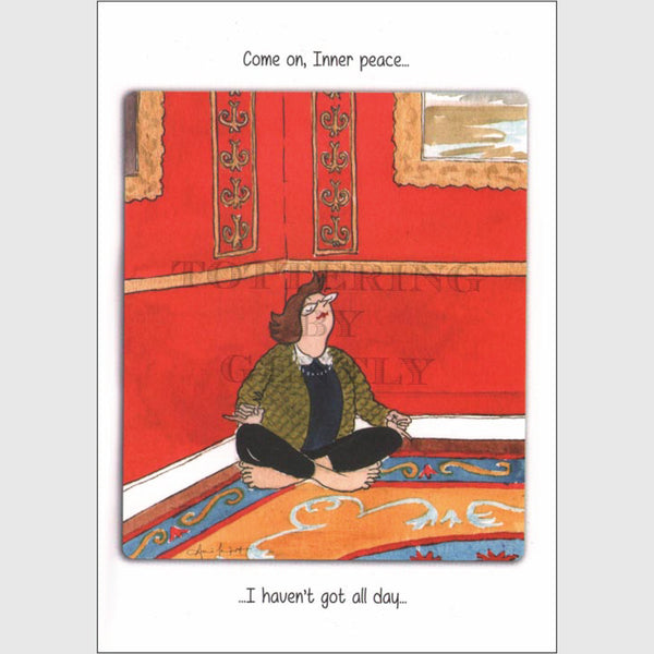 Inner Peace - Greeting card
