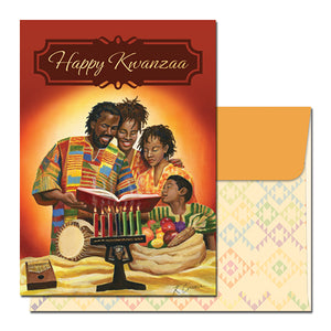 Happy Kwanzaa Family Celebration Card