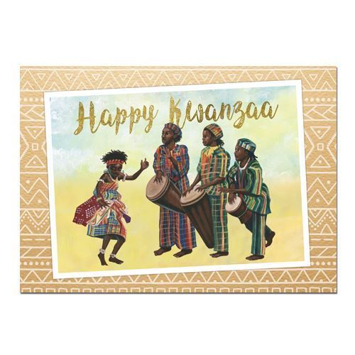 Kwanzaa Kids Card