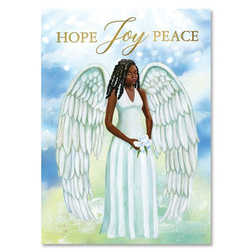 Hope Joy and Peace Holiday Card