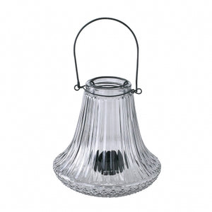 Enrich Glass Vase With Handle Flare