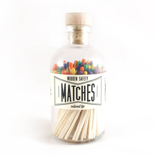 MATCHES - Rainbow Vintage Apothecary Matches