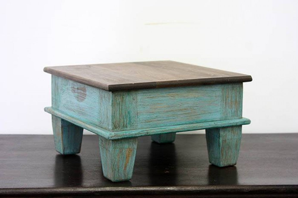 Gonzalez Painted Tea Table (Small)