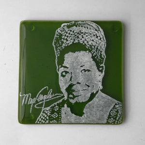 Kiku Handmade - Maya Angelou Single Coaster