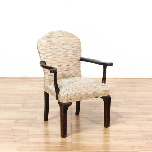 Large Upholstered Arm Chair