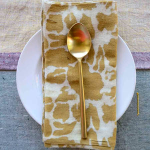 Ichcha - Yan Yellow Gold Napkin (Set of 4)