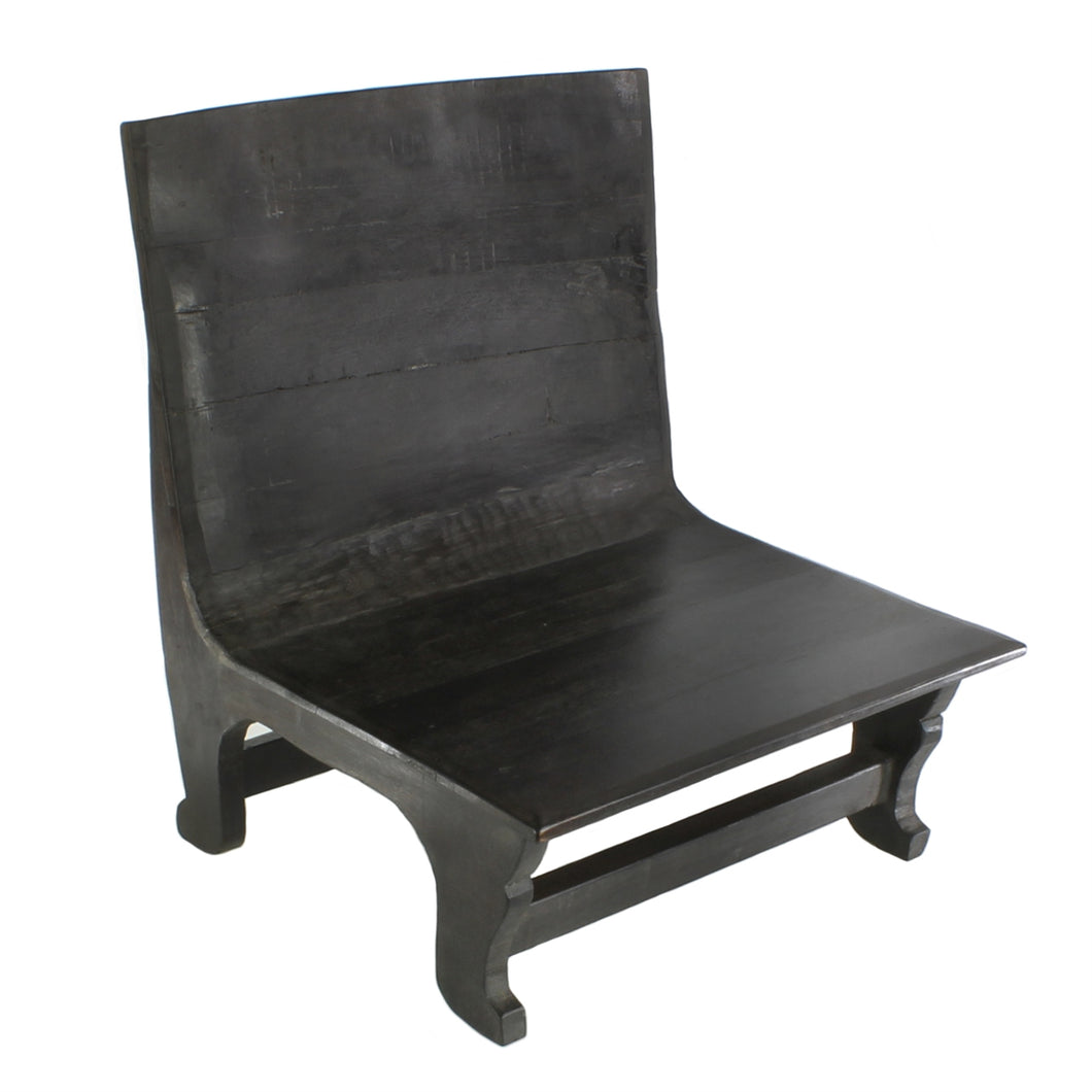 AVALON WOOD CHAIR - DARK STAINED