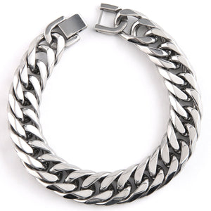 MAD MAN STAINLESS LINK CUFF