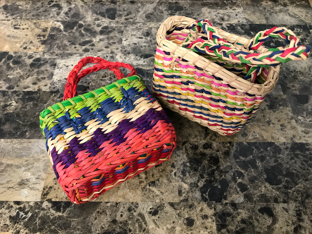 Handwoven Mini Baskets
