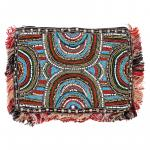 Multi-Color Beaded Clutch