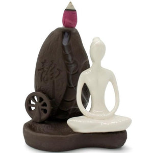 Backflow Incense Burner-Yoga