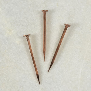 Forged Iron Nail-Copper
