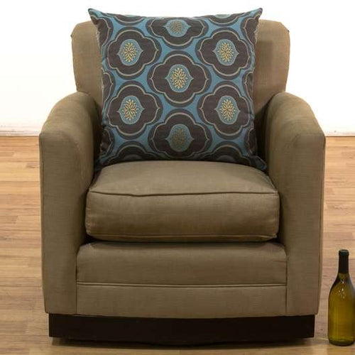 Swivel Club Style Chairs