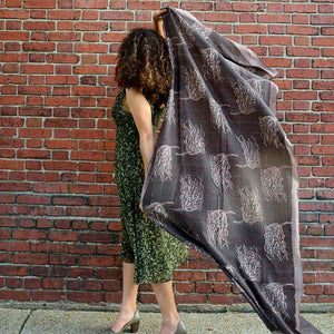 Ichcha - Willow Brown Scarf