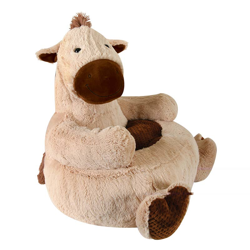 Plush Chair - Horse
