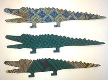 African Fabric Covered Ornaments