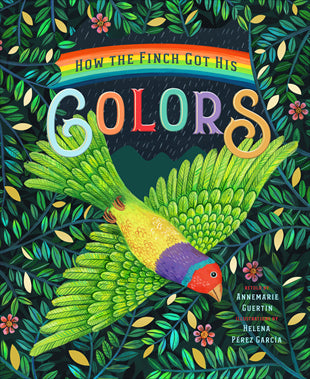 How The Finch Got His Colors- Children's Book