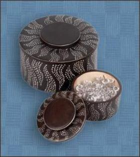 African Simplicity Chocolate Stone Box
