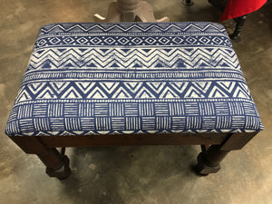 AFRICAN INSPIRED PRINT OTTOMAN