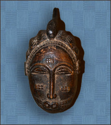 Baule Mask-Ivory Coast