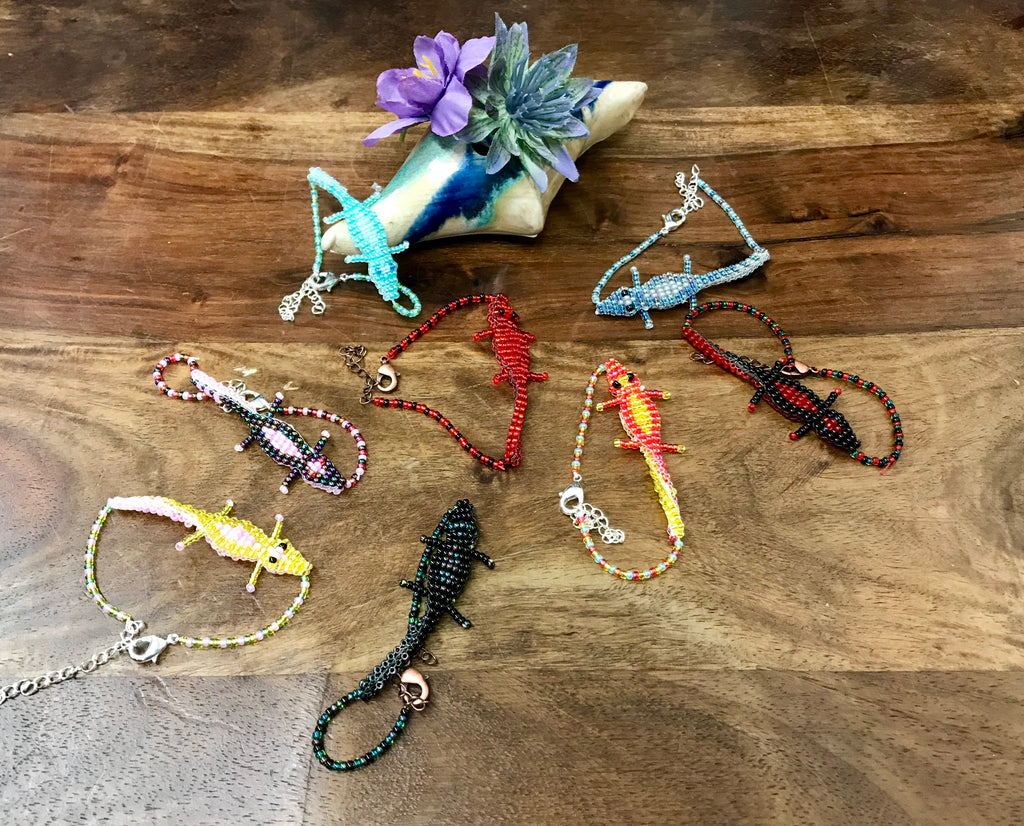 Ezra's Beaded Animal Jewelry