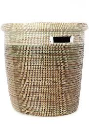 Swahili Modern - Bath Bin Basket with Lid