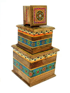 Folk Art Painted Boxes
