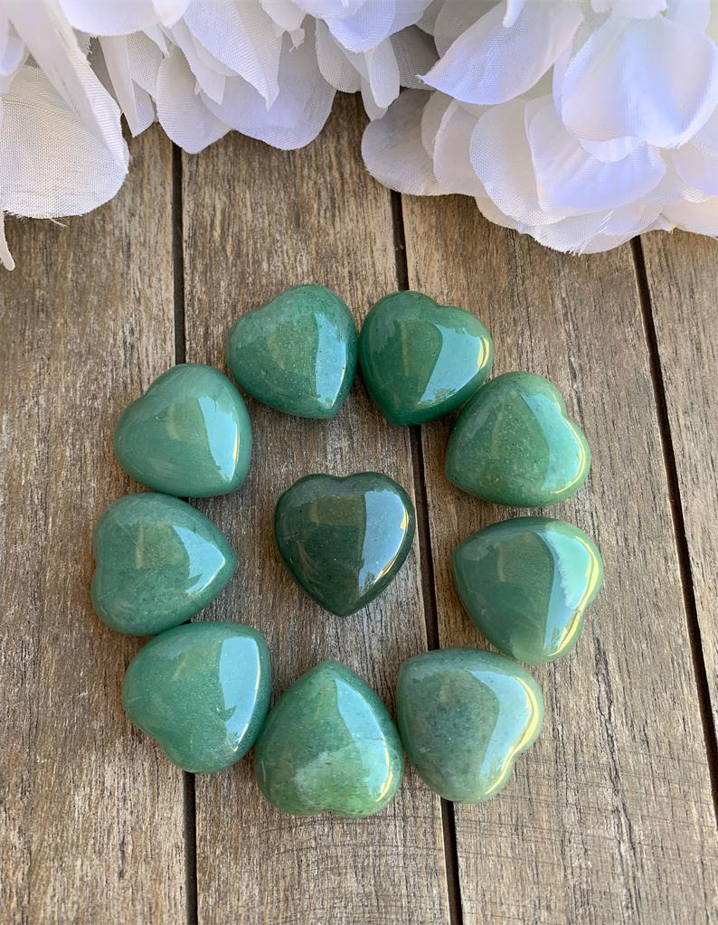 Puffy Heart Healing Crystals