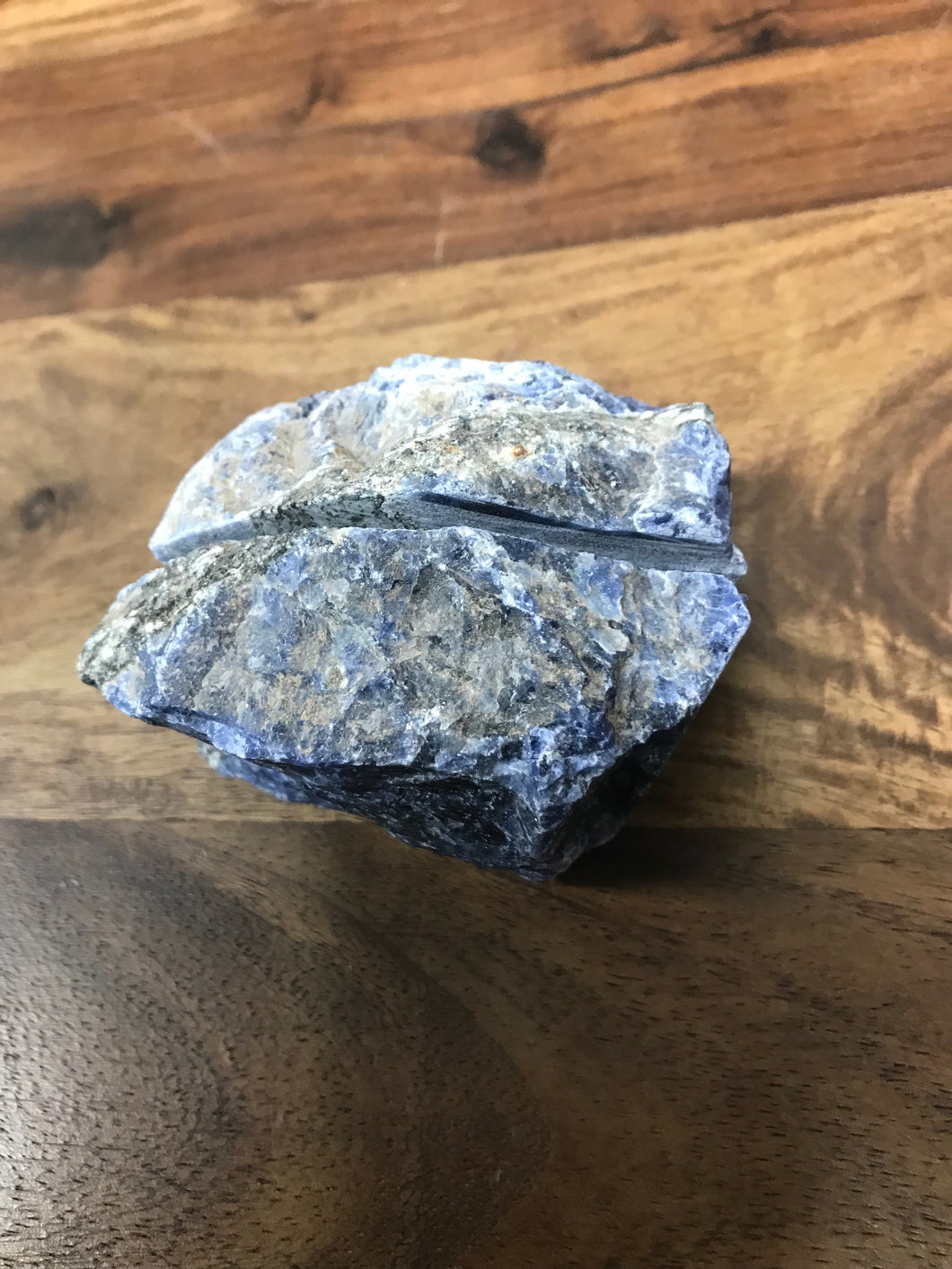 Sodalite Natural Stone Business Card Holde
