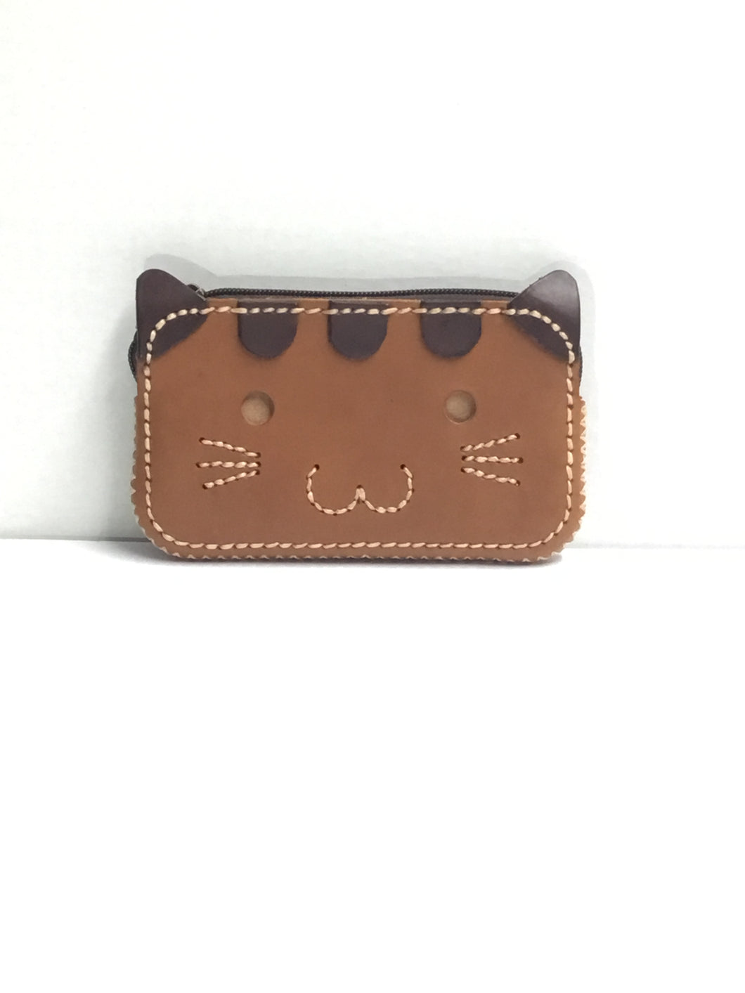 Leather Kitty Wallet