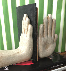 Ceramic Hands Statue Set