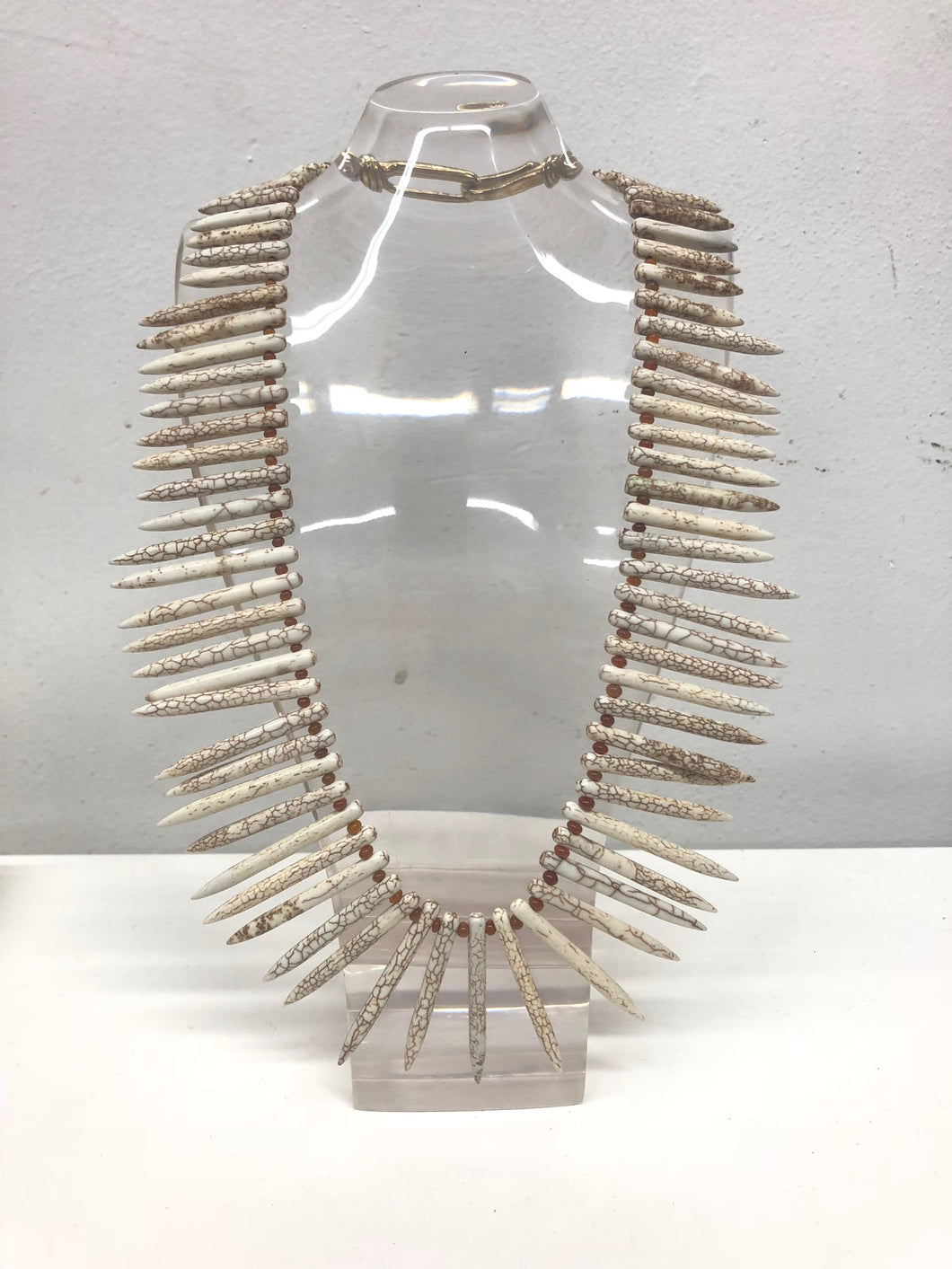 Magnesite Spike Necklace