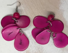 Nutshell Earrings by Peruvian Art