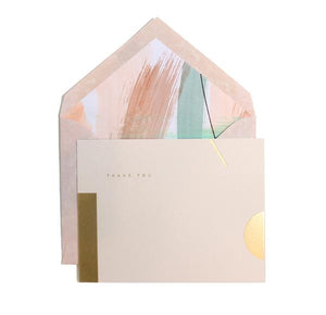 The Artful Envelope and Thank You Card Set