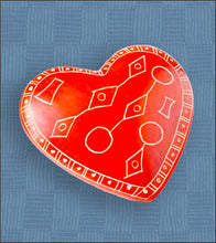 Line Art Soapstone Heart Keepsake