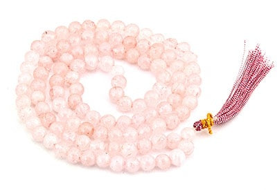 Quartz Prayer Mala