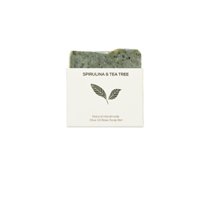 Spirulina and Tea Tree Soap Bar