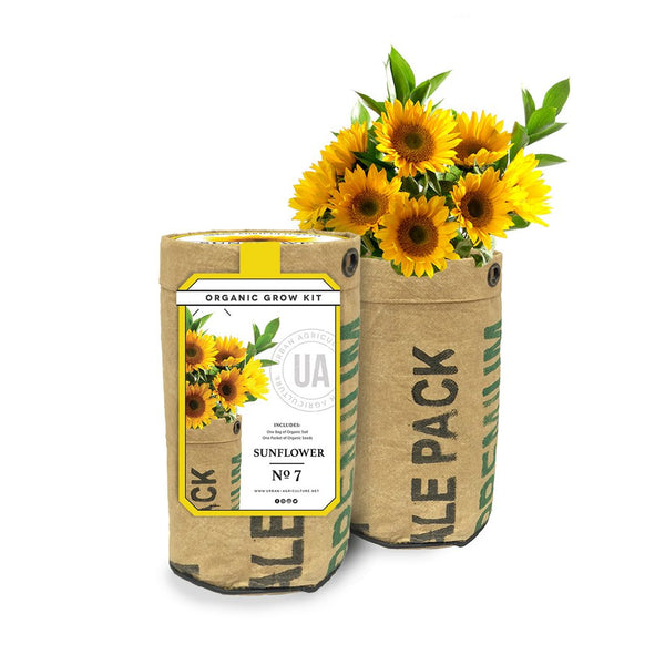 Sunflower Organic Grow Kit