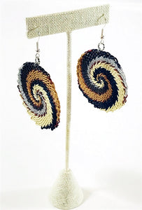 Telephone Wire African Earrings