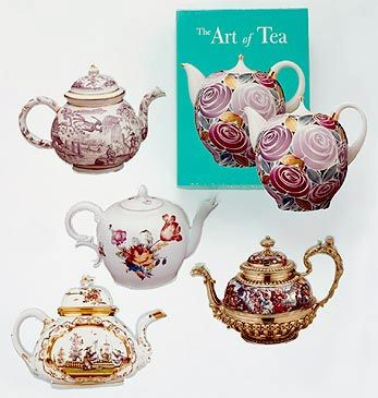 The Art of Tea Note Cards