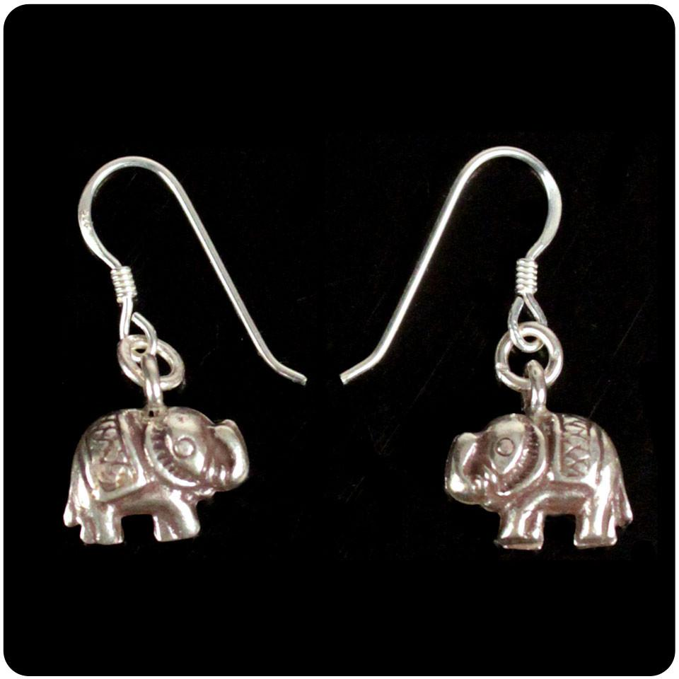 Small Elephant Earring