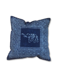 Indigo Batik Pillow Case