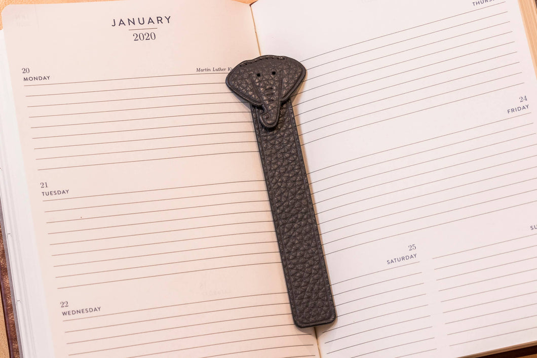Kiko Leather - Elephant Bookmark