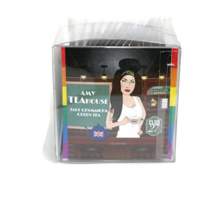 The TeaBook - Amy Teahouse - Jade Genmaicha Green Tea Lgbqtea