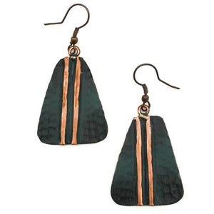 Anju Copper Patina Earrings