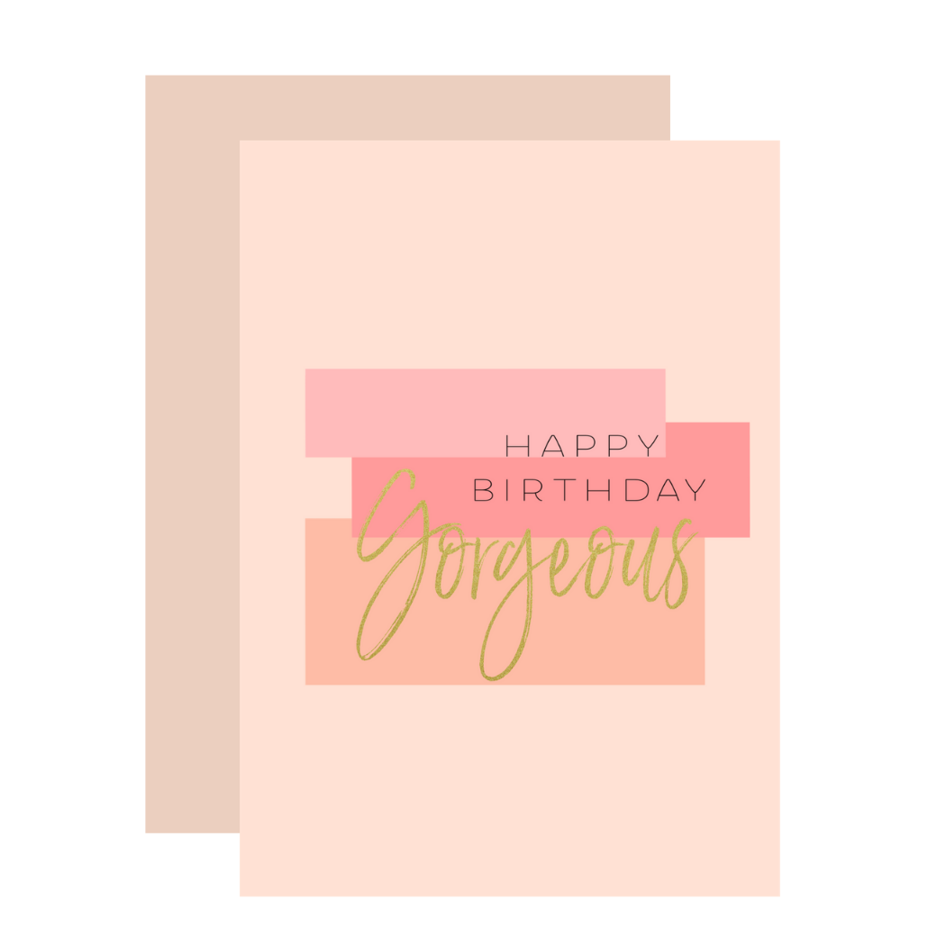 Aims Moon Paperie - Birthday Gorgeous Greeting Card