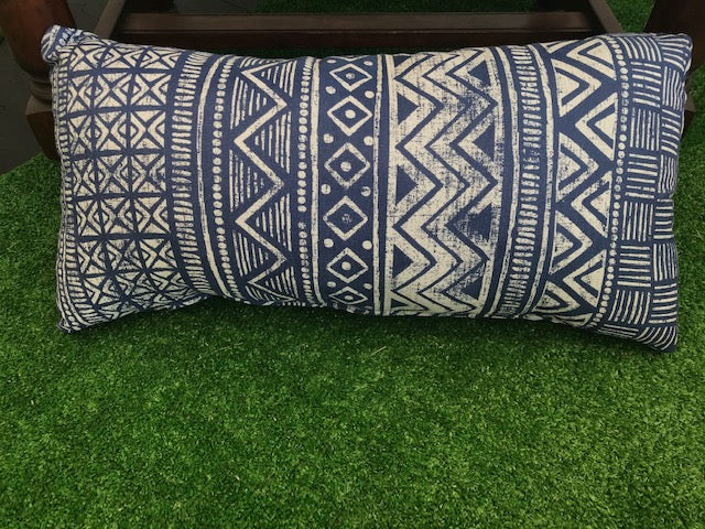African Inspired Print Pillows