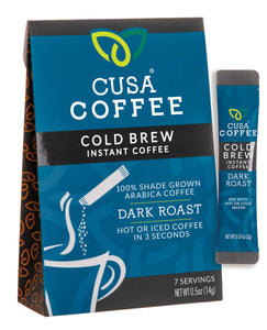 Cusa Tea and Coffee - Cusa Coffee Dark Roast Box