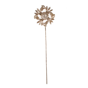 Sunflower Circle Garden Stake