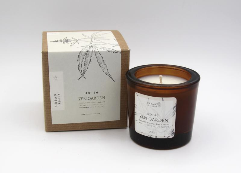 Zen Garden Coconut Wax Candle